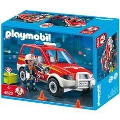PLAYMOBIL 4822 - Coche de bomberos - UKA Digital