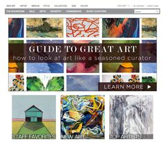 "UGallery Unless your trade involves curating the walls of a fine art museum, discovering a judicious masterpiece to hang in your foyer can be an intimidating task. To develop a keen, artistic eye, UGallery outlines the key elements in its ""Guide to Great Art"" section that makes a painting undeniably remarkable — such as expressive, gestural brushstrokes. You can use your new artistically savvy sense to shop its selection of pieces, with new batches of wondrous works added each week…"