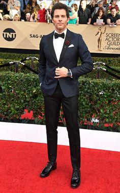 James Marsden from 2017 SAG Awards: Red Carpet Arrivals