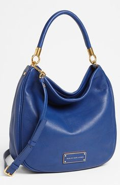 MARC BY MARC JACOBS 'Too Hot to Handle' Hobo, Medium available at #Nordstrom    Teal Goblet is so beautiful!