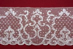 Arenys de Mar is a Spanish point ground bobbin lace