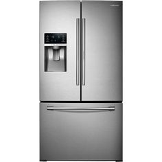 Ft. French Door Refrigerator With Food ShowCase Fridge Door   Stainless