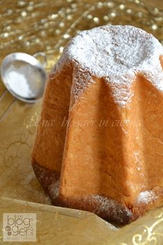 The most classic for Christmas time: PANDORO! Here you have a nice recipe for this cake. But beware it is not an easy one to do! ;)
