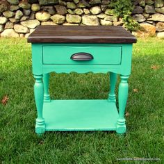 Painted Therapy: Meet Fiona, the side table