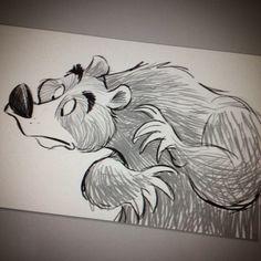 Digital bear.