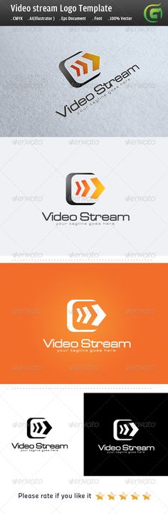 Video Stream — Photoshop PSD #video #media • Available here → https://graphicriver.net/item/video-stream/5060607?ref=pxcr