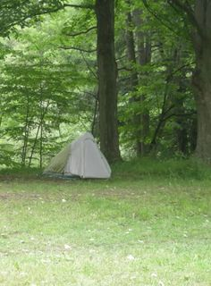 Camping along the Bruce Trail - 2009