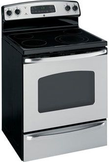 GE SS Oven Capacity Stainless Steel Electric Range, Buy a GE SS Oven Capacity Stainless Steel Electric Range Major Appliances at a low discount price! Gas And Electric Ranges, General Electric, Self Cleaning Ovens, Large Family Meals, Single Oven, Glass Cooktop, Kitchen Cabinet Organization, Good And Cheap, Lowes Home Improvements
