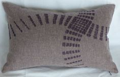 12 X 18 rectangular pillow cover in purple by seriouslyhappypillow