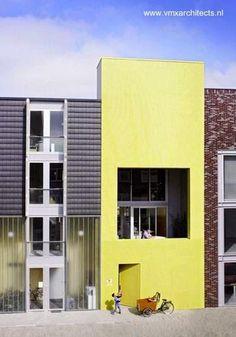 Casa contemporánea en una de las islas de IJburg, Amsterdam - Arquitectura VMX Architects www.vmxarchitects.nl
