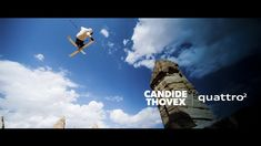 Candide Thovex kills more terrain than you can ever imagine, total bullshit mind blowing stuff. In fact it's Audi showing the world how 'viral advertising' can be done, in a cool way Skullybloodrider Places Around The World, Around The Worlds, Viral Advertising, Skier, Mountain Waterfall, Film Inspiration, Spots, Sound Design, Experiential