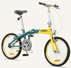 "GOTHAM1 Citizen Bike 20"" 1-speed Folding Bike with Alloy Frame"