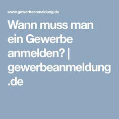 Wann muss man ein Gewerbe anmelden? | gewerbeanmeldung.de