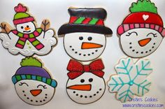 Snowman Cookie Cutters in stock: www.cristinscookiecutters.com Cristin's Cookies: Don't Let Your Snowman Melt - Cookies and Tutorials