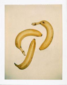 Andy Warhol, Polaroids: Still Life (Bananas) c 1980