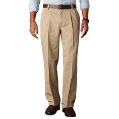 Dockers mens pants Iron free cotton khaki pleated classic fit size NEW Dockers Pants, Khaki Pants, Slacks, Trousers, Mens Dress Pants, Men's Pants, Pleated Pants, Big & Tall, Pajama Pants