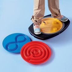 Kids' Outdoor: Kids Balance Board Game in Games All Toys, Kids Toys, School Equipment, Fun Games For Kids, Kid Games, Outdoor Classroom, Classroom Ideas, Balance Board, Gross Motor Skills