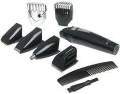 Philips Norelco G370 All-in-1 Grooming System   Philips Norelco G370 All-in-1 Grooming System Philips Norelco's G370 gives you everything you need to define your style in one convenient all-in-one grooming kit.  The G370 comes with a full size trimmer, mini foil shaver, hair clipper comb, beard and moustache trimmer comb, nose, ear and eyebrow trimmer and precision trimmer. The AccuControl System with flexing guide comb follows exact contour of your face and the flexing guide comb is..