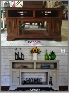 How to makeover a pressed wood fireplace and get an expensive look!
