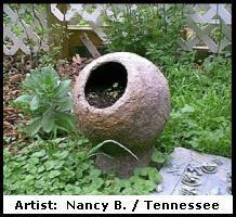 How To Make A Hollow Garden Sphere | Hypertufa U0026 Concrete Spheres