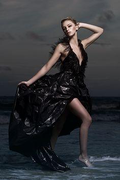 Am so wanting to make a bin liner dress...