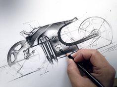 Pencil bike by Olivier Gamiette