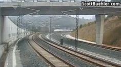 Spain train crash video: At least 78 people killed and 140 injured in Santiago de Compostela derailment Locomotive, Whatsapp Videos, High Speed Rail, Europe News, Cctv Surveillance, Speed Training, Sky News, Facebook Photos, American