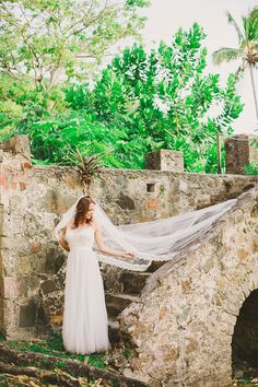 Watters Jacinda Dress Marci + David Married | The Virgin Islands | Closer to Love Photography