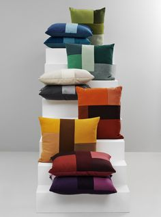 Brick Cushions http://decdesignecasa.blogspot.it