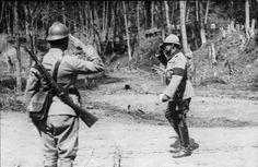 Romanian troops in WWI (1916-1918).