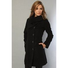 Bigbarry Womens Houndstooth Double Breasted Outwear Thick Lapel Autumn Pea Coat