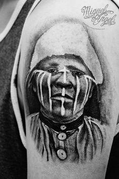 Tattoo 2015, London United Kingdom, Miguel Angel, Custom Tattoo, Tattoo Artists, Chile, Portrait, Tatoo, Chili