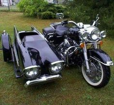 How's this for a side car?...