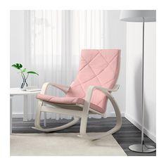 POÄNG Fauteuil à bascule - Edum rose - IKEA