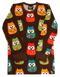 Baby Owl Pitkähihainen paita