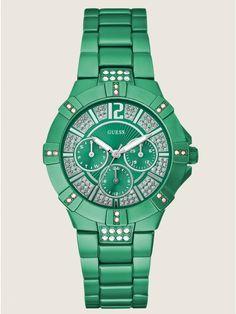 GUESS Dazzling Sport Watch - Green, via https://myamzn.heroku.com/go/B006GU0R3I/GUESS-Dazzling-Sport-Watch-Green
