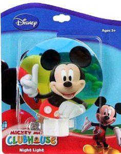 Amazon.com: Disney Mickey Mouse Night Light: Baby