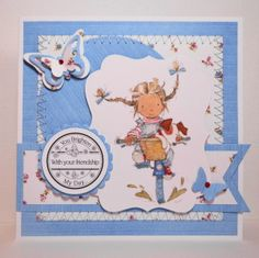 LOTV - Annabel Art Pad by Amanda Stokes  Need this stamp !