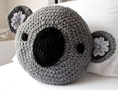 Crocheted Animal Pillows