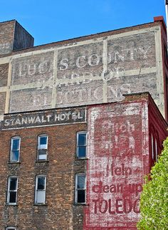 Ghost Signs, Toledo, OH