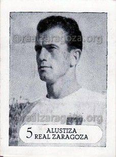 Ignacio Alustiza. Jugador del #realzaragoza 1956-62