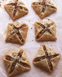 """Sausage and Feta Hand Pies 