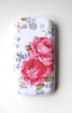 Summer Rose Phone Case Samsung Galaxy S3 Phone Case by vassap