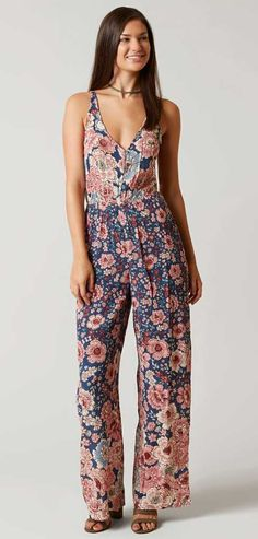 Floral Romper : Billabong Up in the Canyon Romper | Buckle
