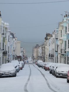 Snow in Brighton Shared by Motorcycle Fairings - Motocc Brighton England, Brighton And Hove, Homes England, England Uk, Places To Travel, Places To See, Seaside Shops, England Ireland, Chichester