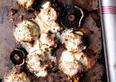 Stuffed Portobello with Melting Taleggio: From Plenty by Yotam Ottolenghi