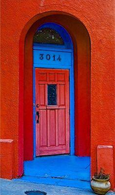 Paseo Arts District, Oklahoma City, Oklahoma [from my board: Doors and Gates. Porte Cochere, Cool Doors, Unique Doors, Portal, Entrance Doors, Doorway, The Doors Of Perception, Door Picture, When One Door Closes
