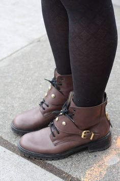 """""""Solee- Broadway & Mercer"""" Capitol Hill Style, Fashion Photo, Button Up, Biker, Broadway, Street Style, Boots, Crotch Boots, Urban Style"""
