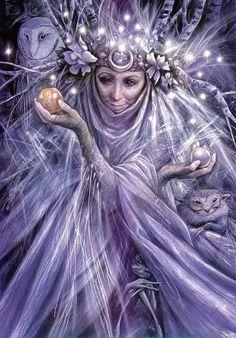 Women Goddesses | Publicado 07/01/2013 at 906 × 1300 in O Fantástico Mundo de Froud