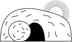 #Empty #Tomb clip art - vector clip art online, royalty free  public domain #Easter